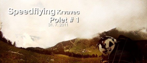 Speedflying Krvavec