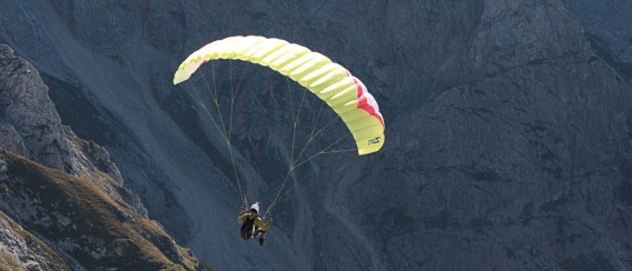 Speedflying Alpe Giuli