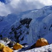 high camp na atraktivni lokaciji na 5800 m