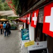 Swiss flag everywhere